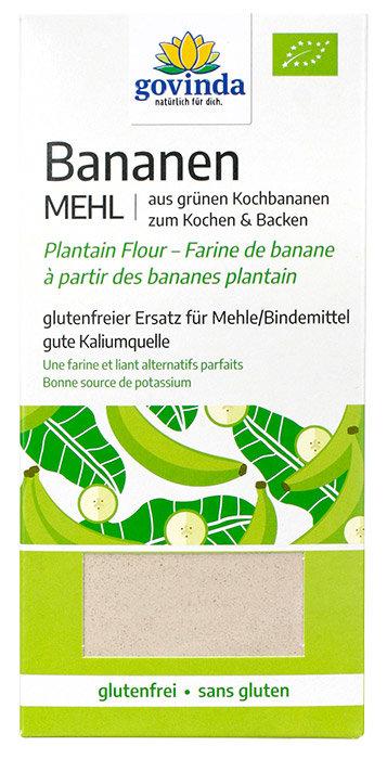 BIO Banānu milti, bez glutēna, 350 g