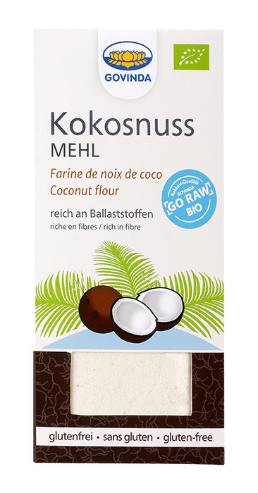 BIO Kokosriekstu milti, bez glutēna, 350 g